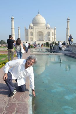 Photo of New Delhi Private Tour: Day Trip to Agra from Delhi including Taj Mahal and Agra Fort At Taj Mahal