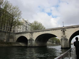during the Seine River cruise , Anne L D - April 2012