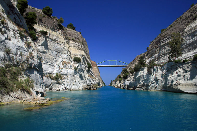 Classical Greece: The Corinth Canal - Athens