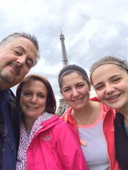 Great time at the Eiffel Tower on July 9, 2014! , John M - July 2014