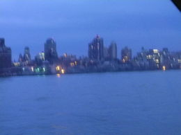 An evening shot of Manhattan from the cruise ship , Neil B - May 2012