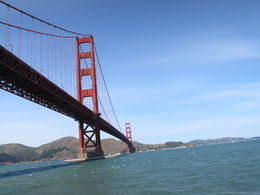 golden gate bridge on the tour , Dan S - April 2015