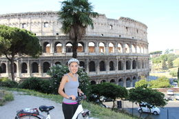 Photo of Rome Rome City Bike Tour Our 1st stop - the Colesseum