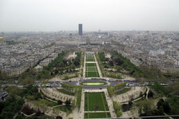 Great views of Paris from the Eiffel Tower, even on a grey day! , Kristin C - May 2013