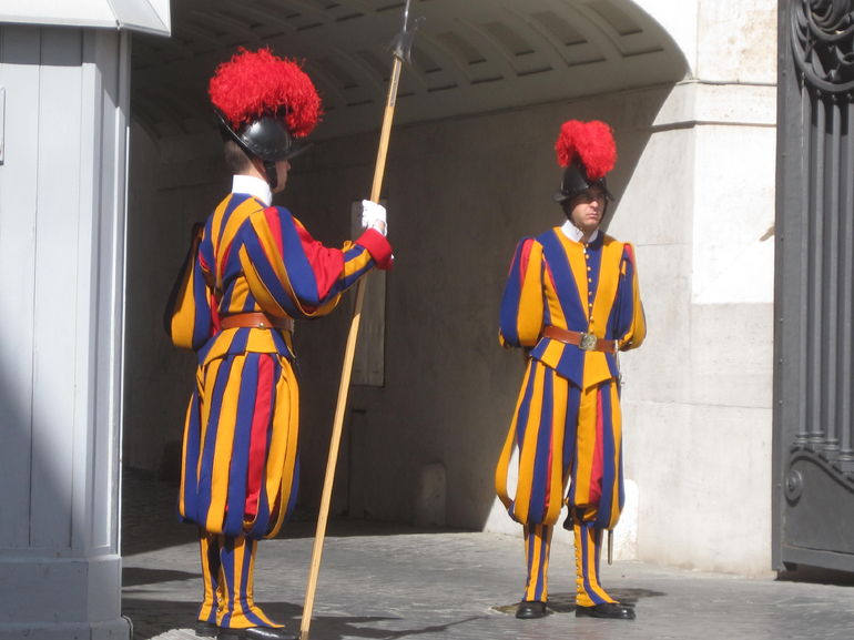 The Pope's guard - Rome