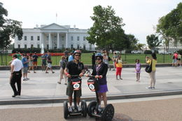Photo of Washington DC Washington DC Segway Tour The White House from the Segway.