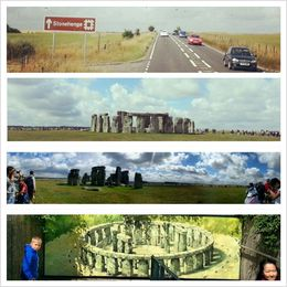 Trip to Stonehenge , Maryam - August 2013
