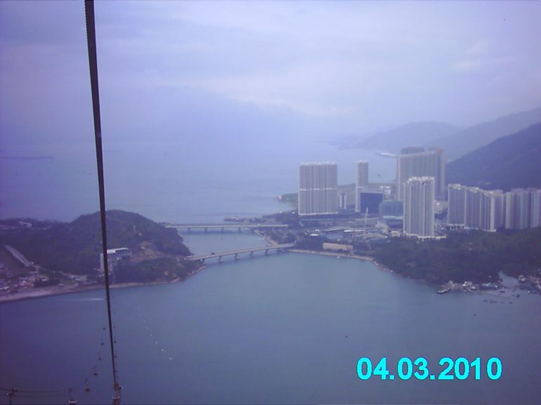 View from Cable Car - Hong Kong