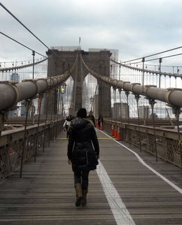 Photo of   Walking the Brooklyn Bridge