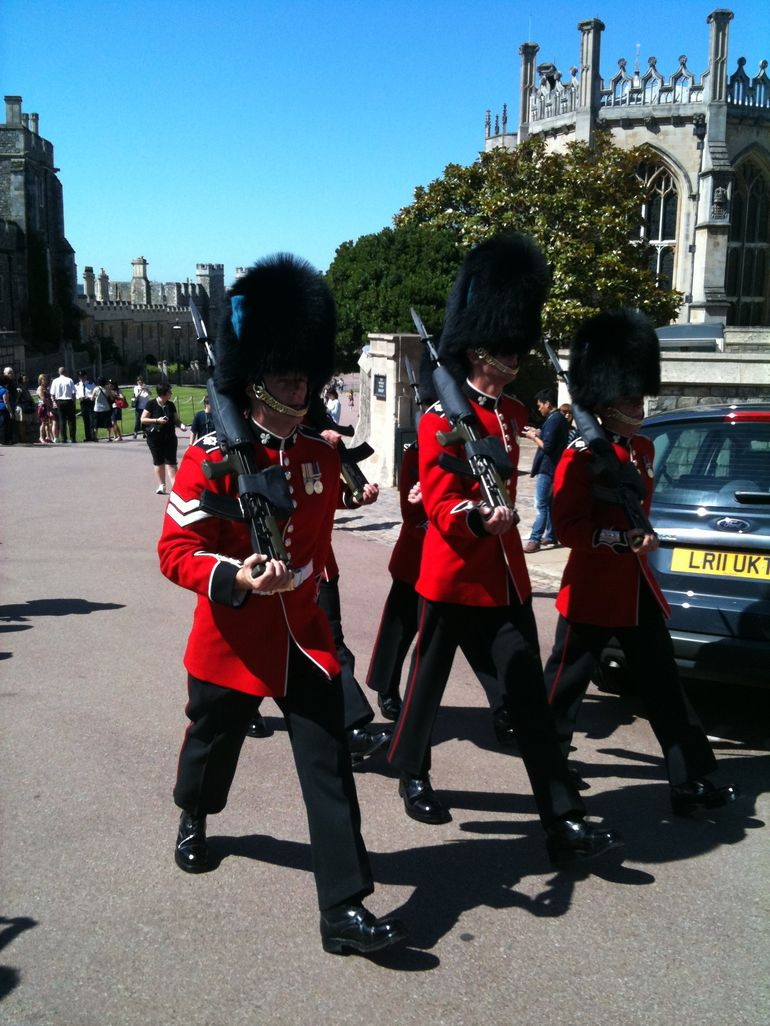 Windsor Castle guard - London