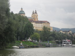 Photo of Vienna Danube Valley Day Trip from Vienna Approaching Melk Abbey