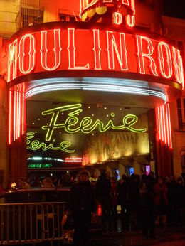 Photo of Paris Eiffel Tower, Paris Moulin Rouge Show and Seine River Cruise At Moulin Rouge! (En el Molino Rojo)