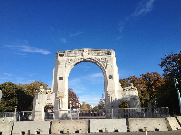 Bridge of Remembrance - Christchurch