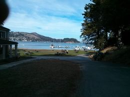 The camp site by the ferry dock. , Henry C - November 2013