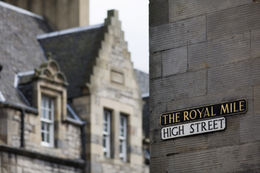 The Royal Mile, Edinburgh - May 2011