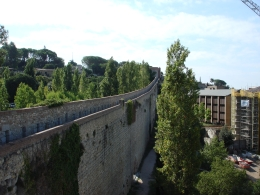 Girona's ancient wall, Jennifer D - September 2010