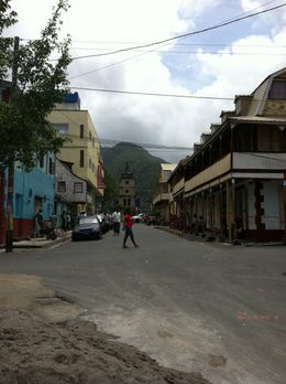 Town of Soufriere at the base of the Pitons. , Ryan P - September 2012