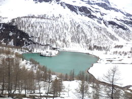 Photo of Milan Swiss Alps Bernina Express Rail Tour from Milan Lake at the top