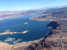 Photo of Las Vegas Best of the West Rim: Grand Canyon Air Tour with Helicopter, Boat Ride and Optional Skywalk Admission Lake Mead