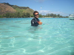 The clear blue waters were magnificent., Stephen H - August 2011
