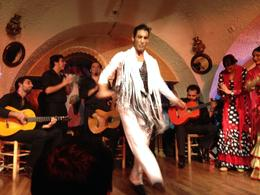 Photo of Barcelona Flamenco Night at Tablao Cordobes One of the lead dancers