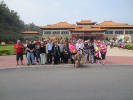 Photo of Taipei 5-Day Best of Taiwan Tour from Taipei: Sun Moon Lake, Taroko Gorge, Kaohsiung and Taitung Our group photo.