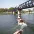 Photo of Bangkok Thai Burma Death Railway Bridge on the River Kwai Tour from Bangkok Our long tail boat pulls away.