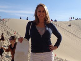 Photo of Sydney Port Stephens Day Trip with Dolphin Watching, Sandboarding and Australian Wildlife Sandboarding