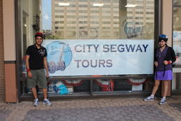 At the Segway office near the Foggy Bottom metro station. , Amitabha - August 2012