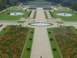 View from the dome at Vaux le Vicomte , Cathy B - October 2013