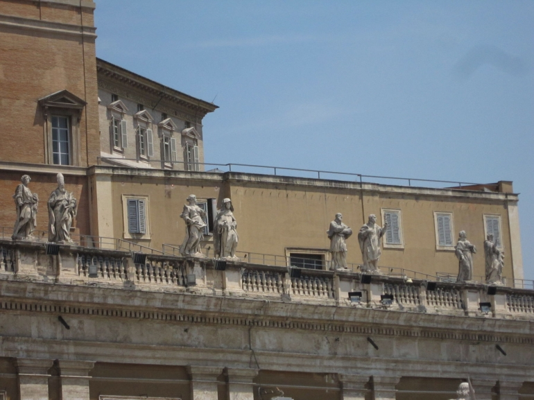 St Peters Square - Rome