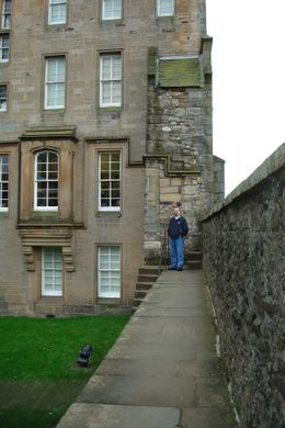 Inside the grounds of the castle., Sheila R - October 2008