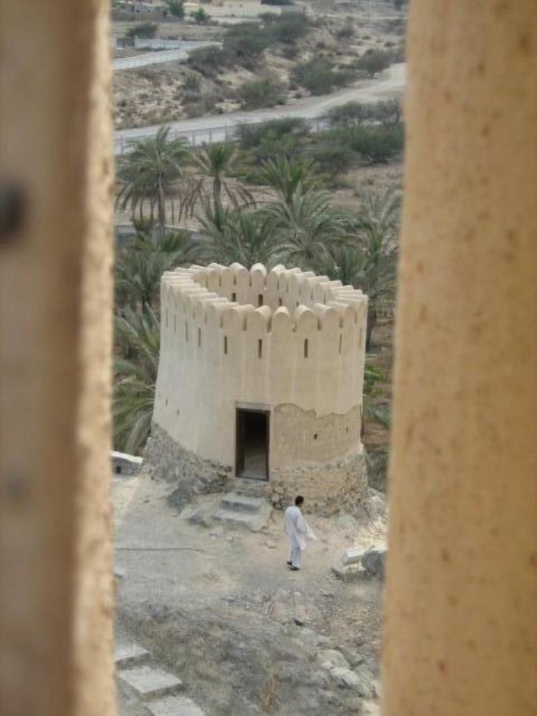 Through the fort windows - Dubai