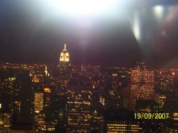 This is one of the magnificent views from the very Top of the Rock., Amy B - September 2007