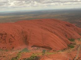 Uluru was magnificent!, Ann F - March 2010
