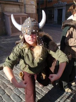 Our viking guide, HTravelerUK - April 2014