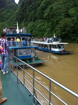 Photo of Guilin Li River Cruise Full Day Tour of Guilin and Yangshuo Boats on the Li River