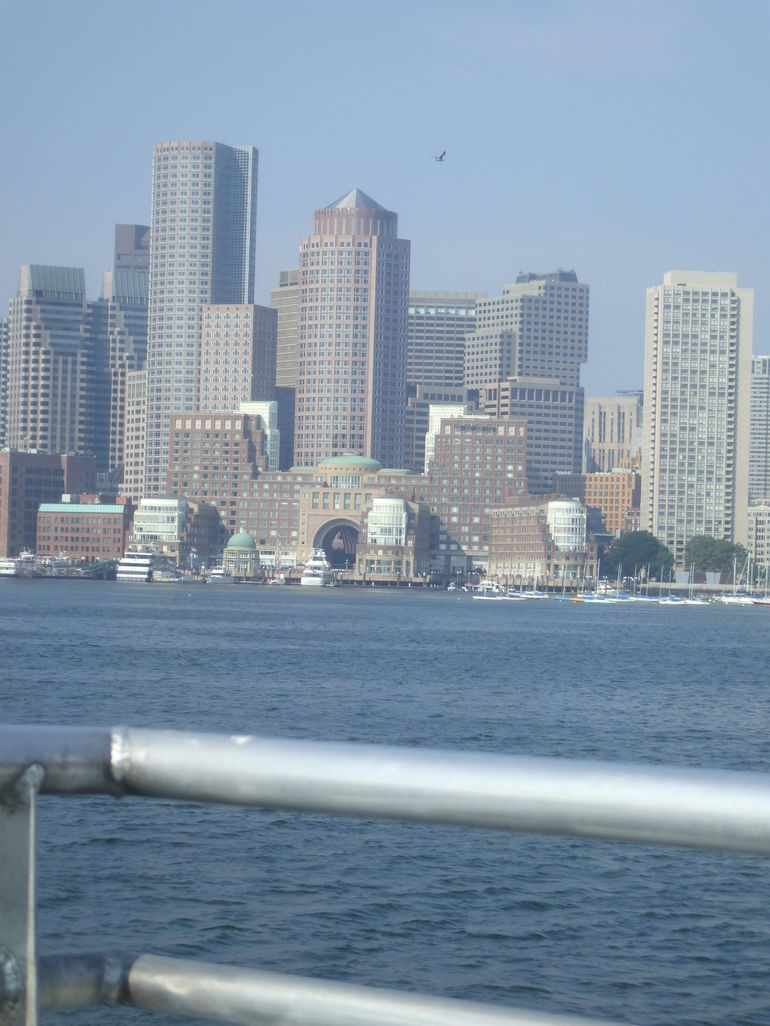 Boston from The boat - Boston