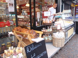 One of the many cheese shops in the Latin Quarter , Meagan M - November 2012