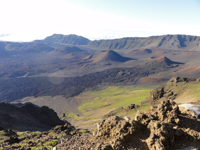 Cinder cones in the Haleakala crater - Maui
