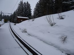 Photo of Zurich Jungfraujoch: Top of Europe Day Trip from Zurich Cogwheel rail track