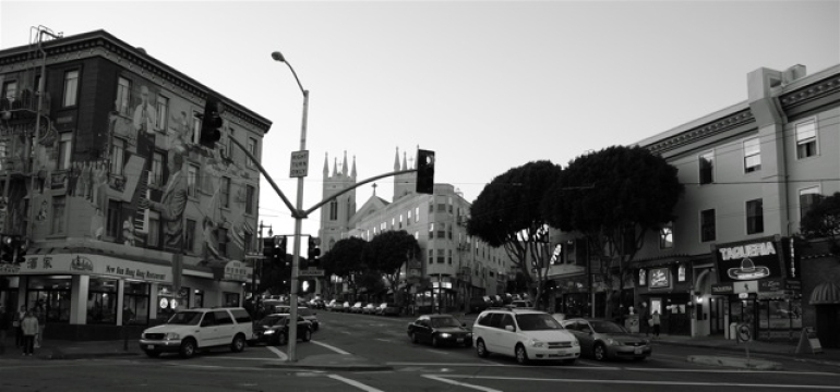 Columbus & Broadway, North Beach -