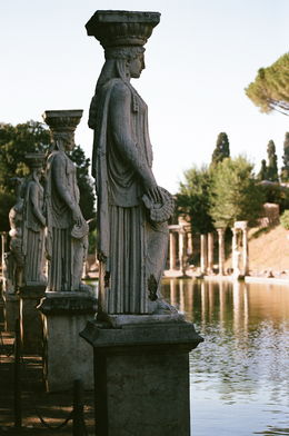 Photo of Rome Hadrian's Villa and Villa d'Este Half-Day Trip from Rome hadrian's villa
