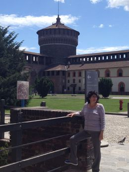 Castillo Sforzesco , Marco Antonio Gamez - July 2013