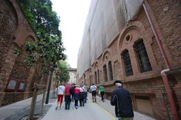 Photo of Barcelona Montserrat Royal Basilica Half-Day Trip from Barcelona Montserrat Pathway to Basilica