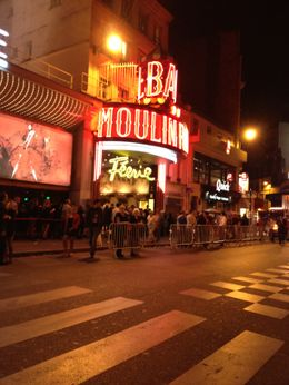 Photo de Paris Paris : dîner-spectacle au Moulin Rouge Moulin Rouge 2012