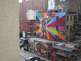 Nice Display of Street Art NYC, Patricia P - July 2015