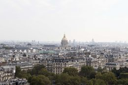 At the first stage of the Eiffel Tower, you get a good panoramic view of the city. Due to time considerations, we did not choose to go higher! We did walk down the stairs instead of taking the lift, ... , Cheryl F - October 2015