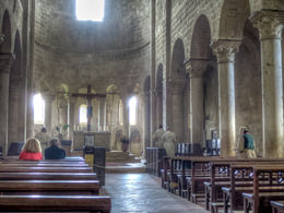 The Abbey of Sant 'Antimo at Montalcino , Greg - May 2014