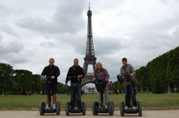 No matter who you are, do a Segway tour in Paris or any other city in Europe. Tour the city and have the most fun doing it! Hilarious and so much fun. Second honeymoon or even your first, its for..., Edward B - June 2010